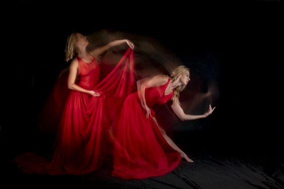 Diederik van Rompaey Lady in red